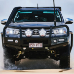RFM 4x4 199 Logan Road Woolloongabba Image Bars & Racks   RFM4x4 2015 Hilux T13 Steel Bullbar 150x150   Recreation Fleet and Mining